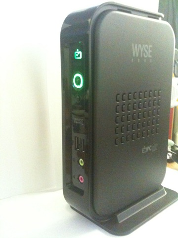 wyse default administrator password windows 7