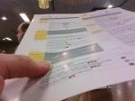 Checking the agenda